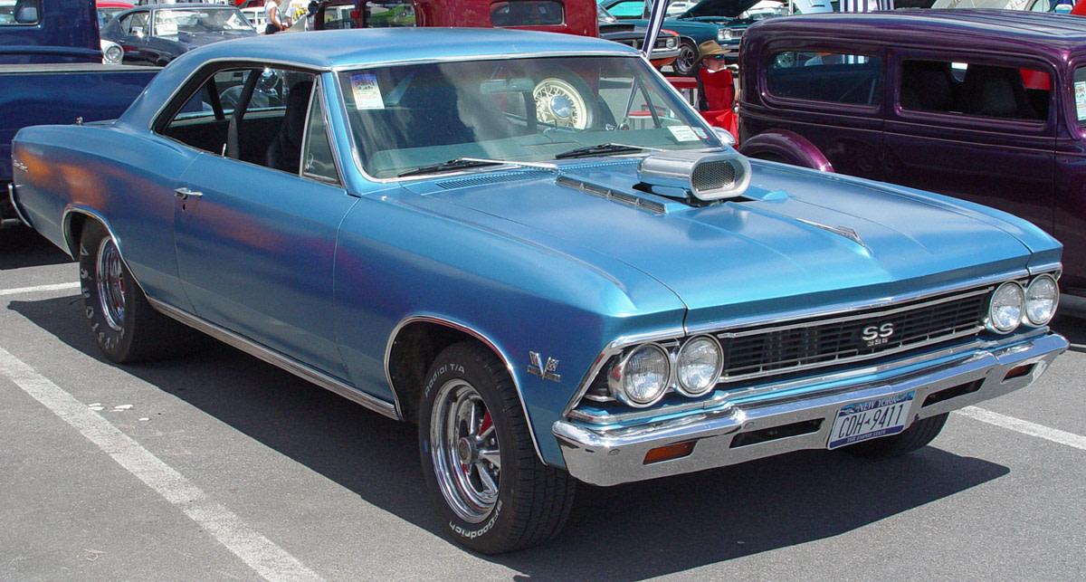 8 - 1966 Chevrolet Chevelle SS