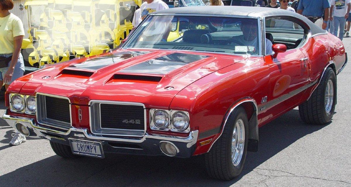 9 - 1969 Oldsmobile 442