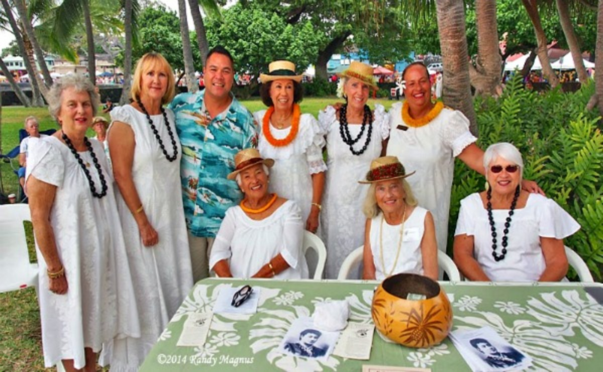Daughters of Hawaii at Hulihe'e Palace