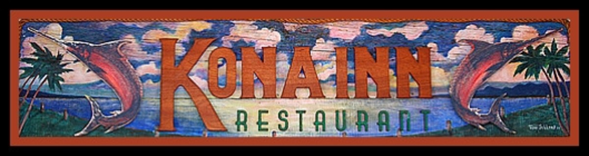 Kona Inn Restaurant sign