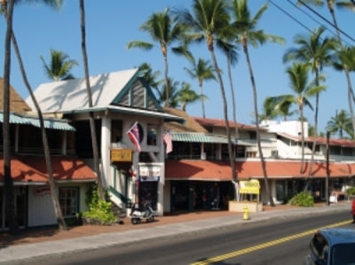 Kona Inn Village Shopping Center Kailua-Kona Hawaii
