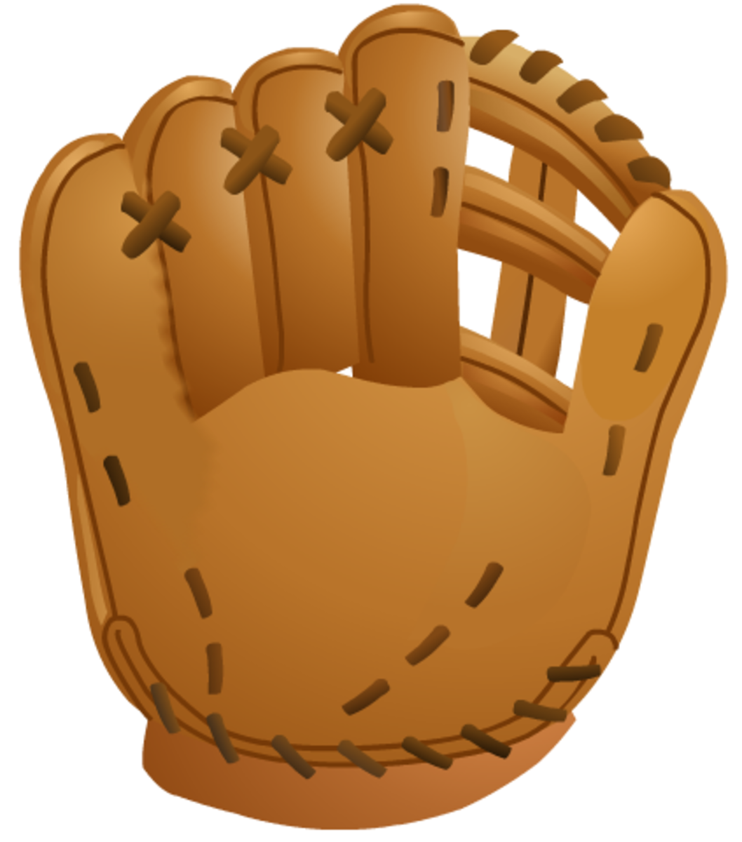 Baseball images: plain baseball glove for a left-handed player
