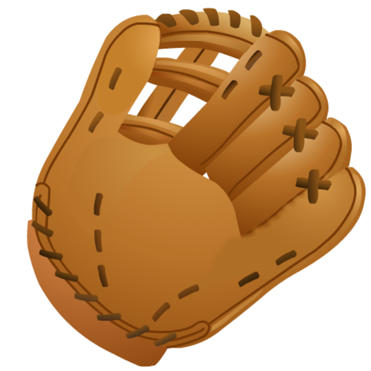 Baseball images: plain baseball glove