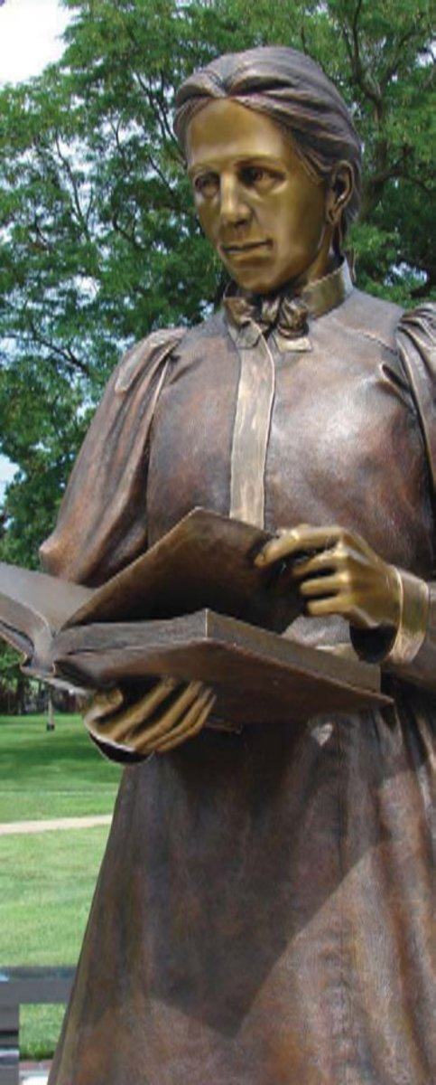 A Statue Honoring Arabella Mansfield Can Be Found At Iowa Wesleyan College