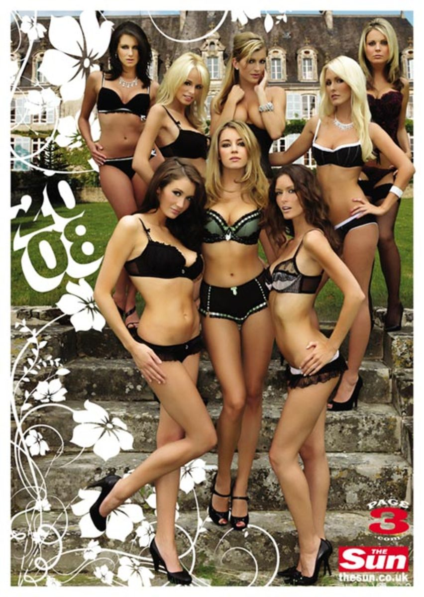 A Brief History Of Page 3 Girls