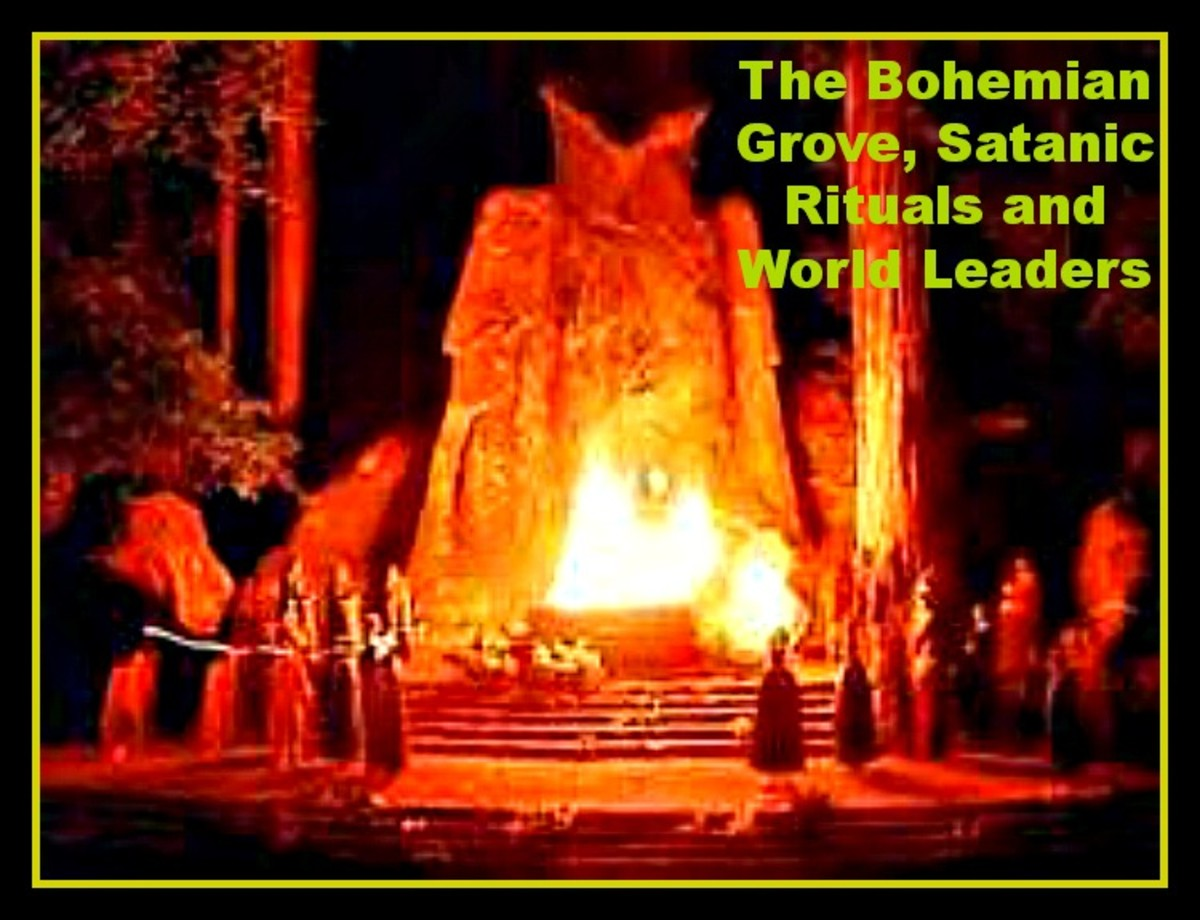 The Bohemian Grove, Satanic Rituals and World Leaders