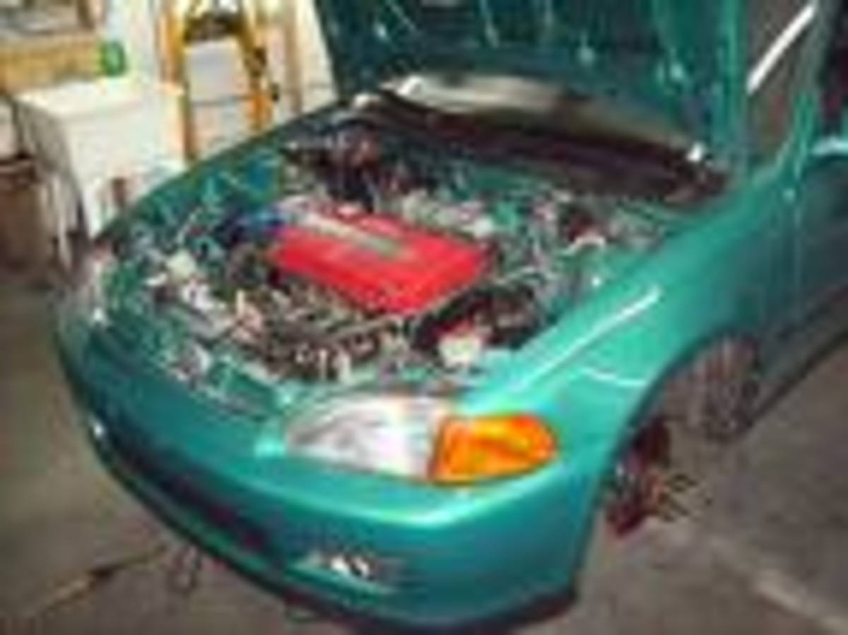 Motor Swaps for the 92-95 Honda Civic