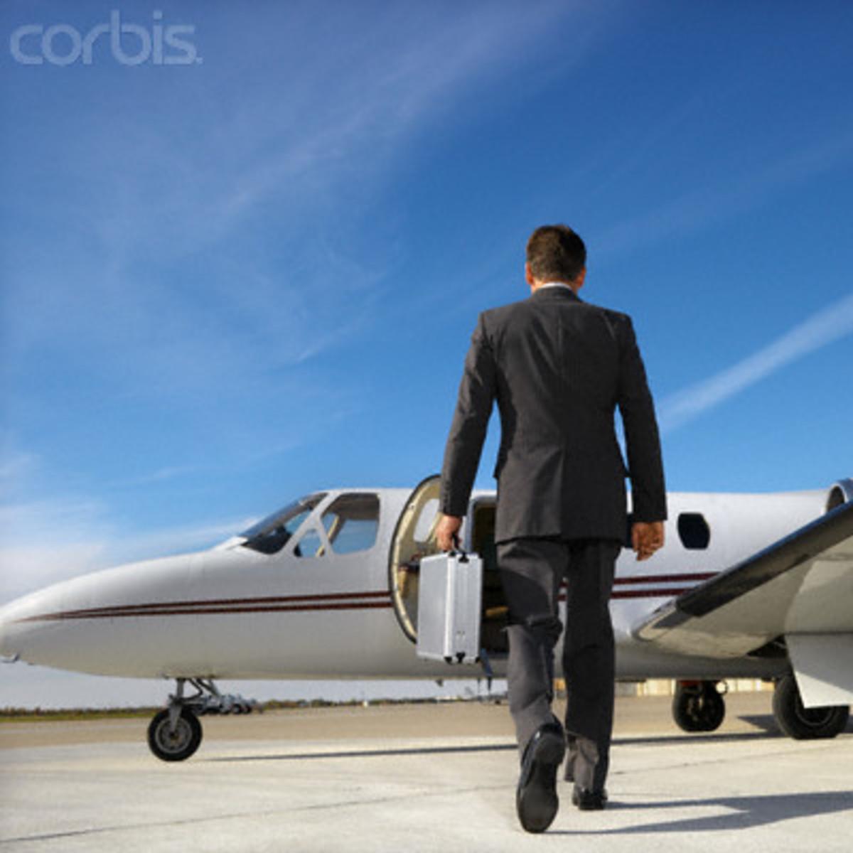 PRIVATE AIRCRAFT BOARDING PROCEDURE