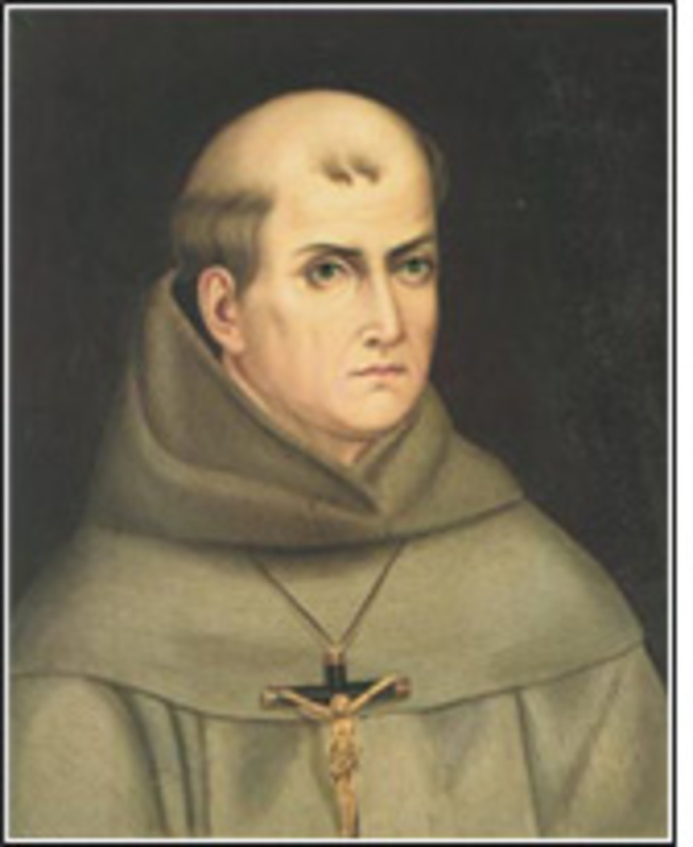 Father Junipero Serra Came To Monterey And Founded One Of His Many Missions In California