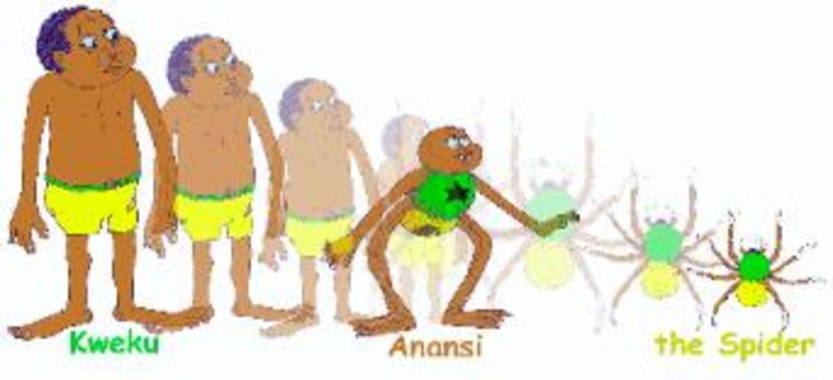 Anansi, the hero of the story