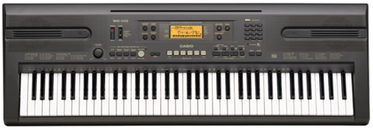 The Casio WK-110 lacks proper MIDI drivers for Mac OS X.