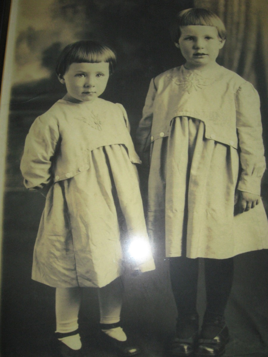 Nell and her sister, Martha