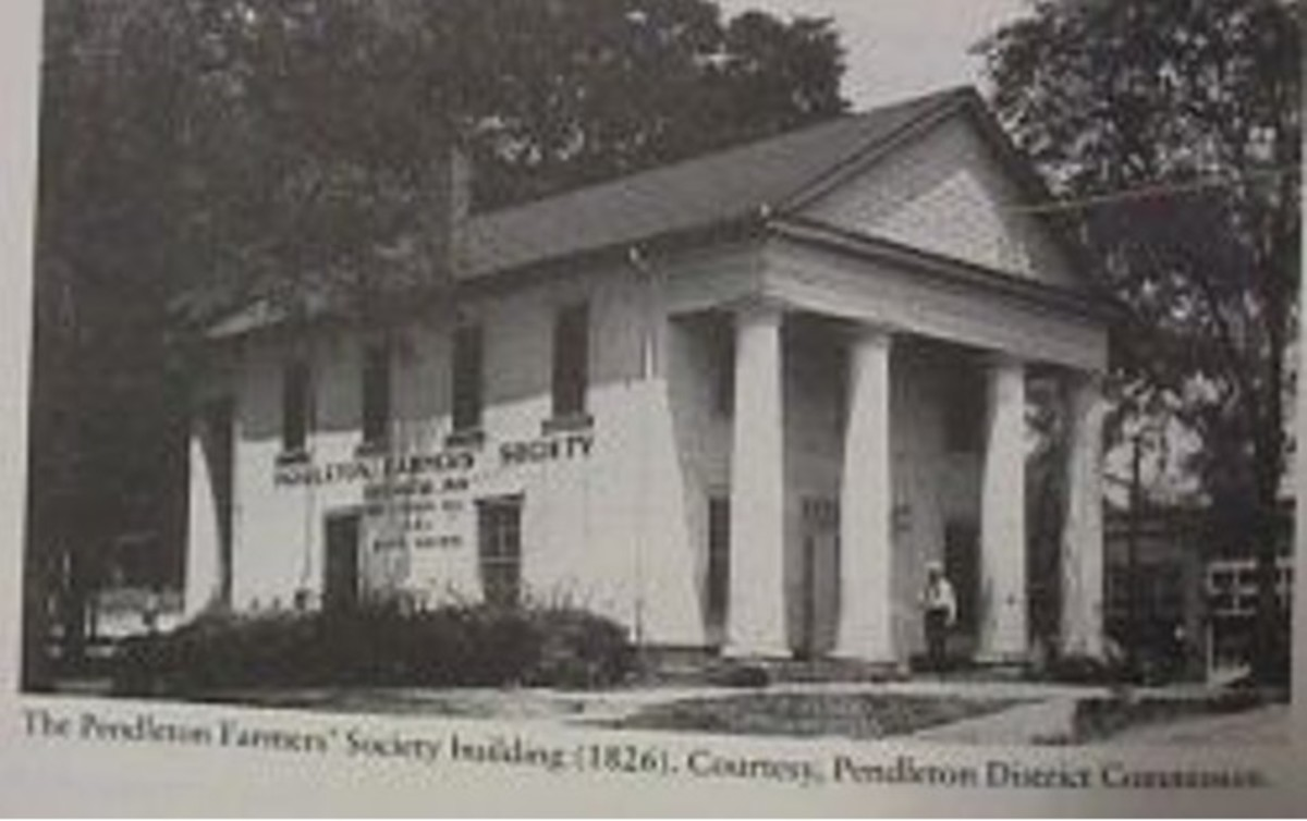 Photo: Farmers Hall as the Post Office