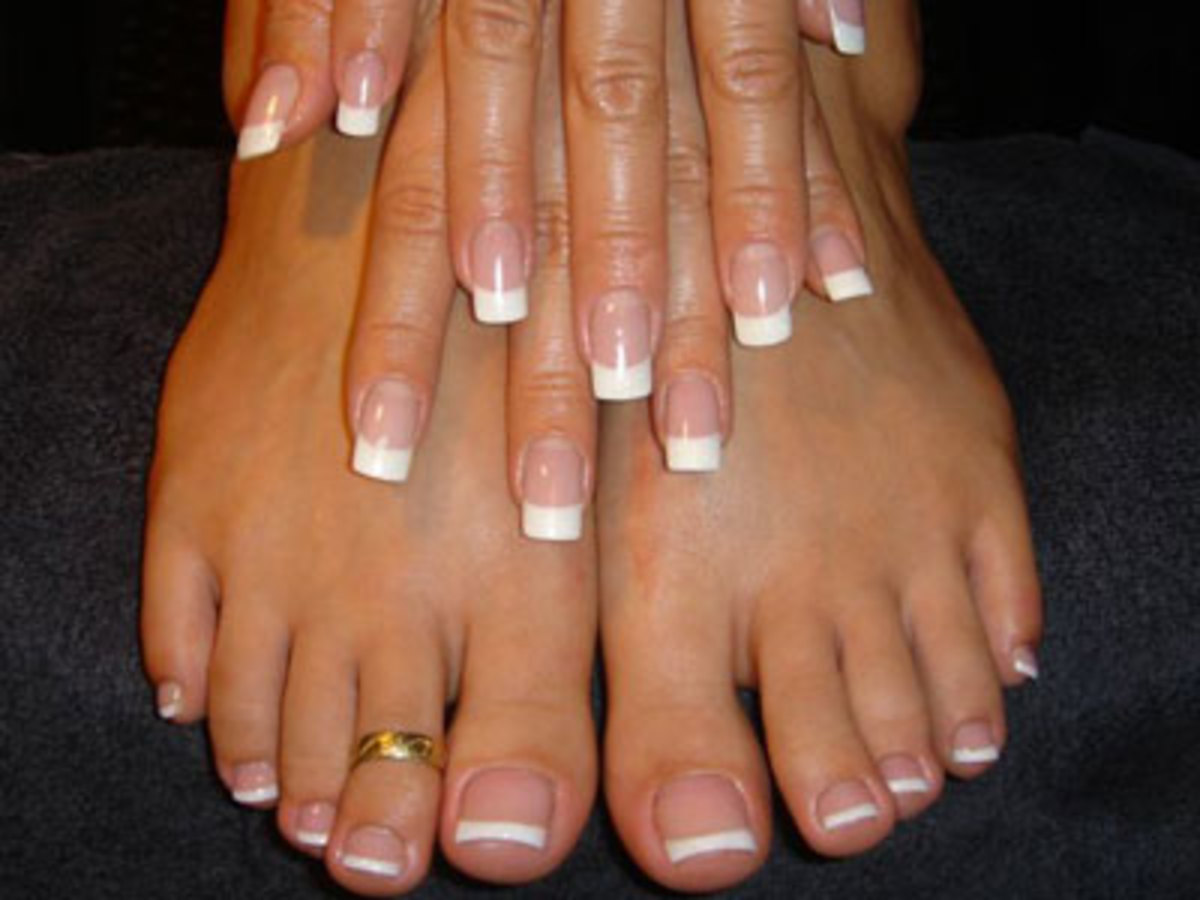 how to do gel nails using LCN products