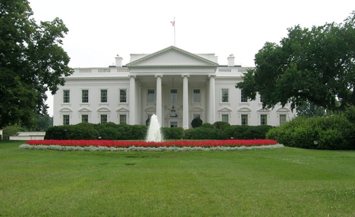 White House Address: 1600 Pennsylvania Avenue Washington DC 20500