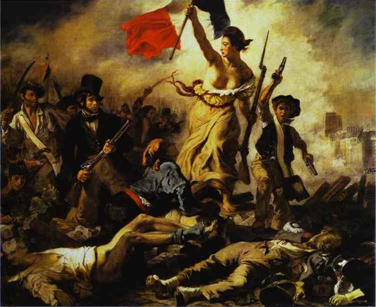"Delacroix's ""Liberty Leading the People"" captured the spirit of an age when the shackles of slavery were struck off one by one around the world."
