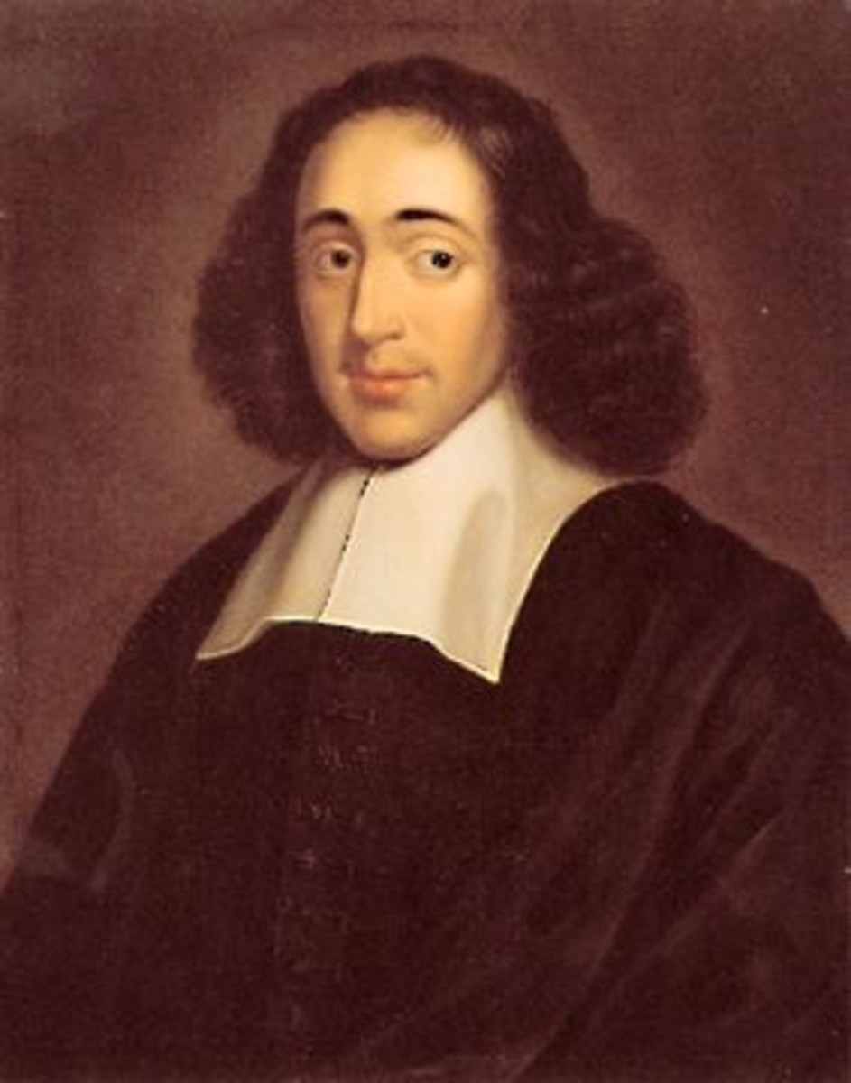 Spinoza was a marrano, a Sephardic Jew who were exiled from Spain, or Sepharad as they called it.  His philosophy argued for a unity of mind and body in opposition to the dualism of Descartes.