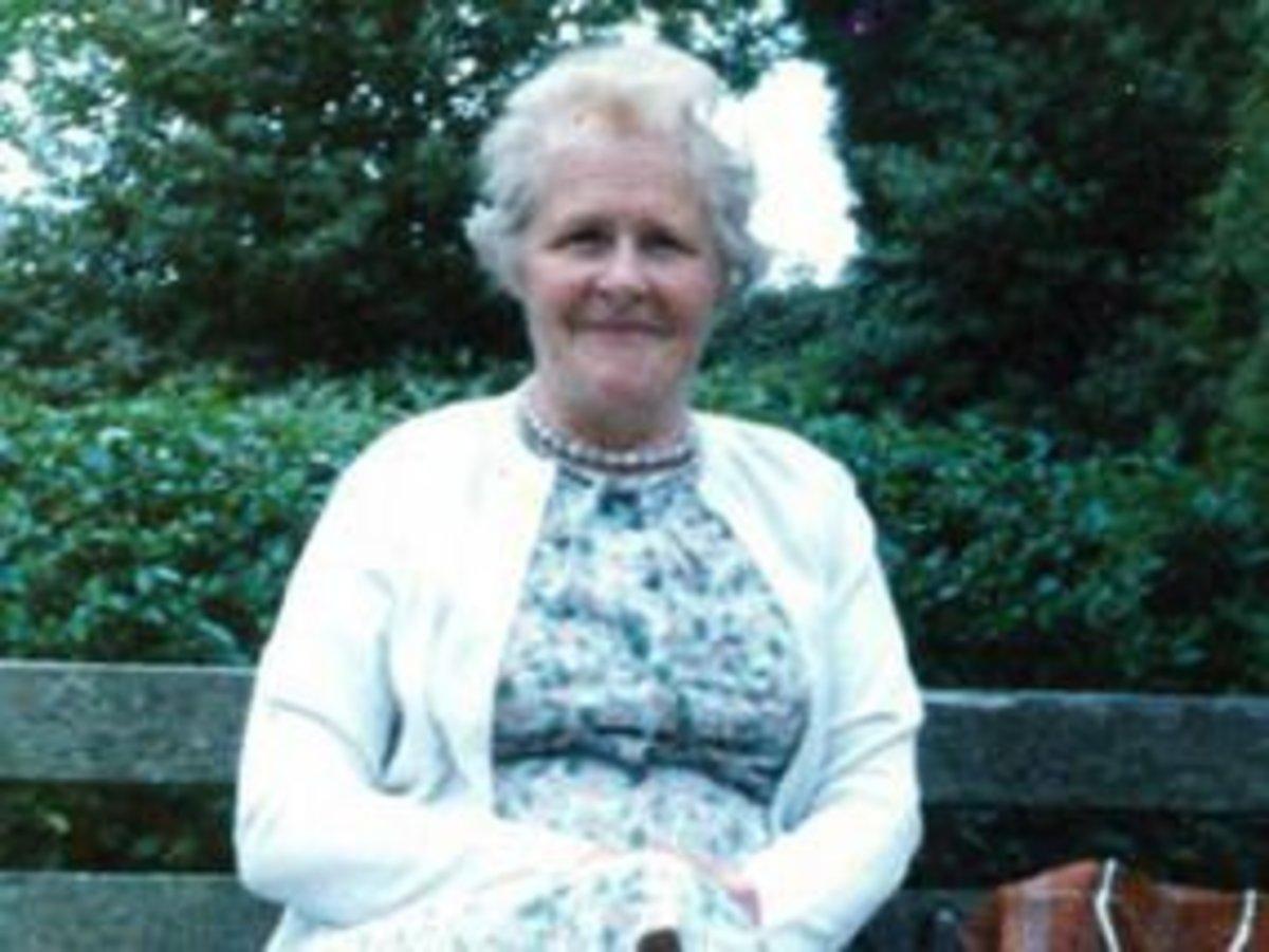 Retired teacher Joan Charlton