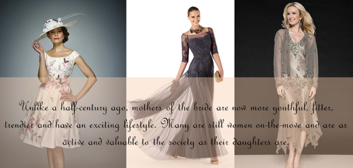 Youthful Styles of Mother of the Bride Dresses