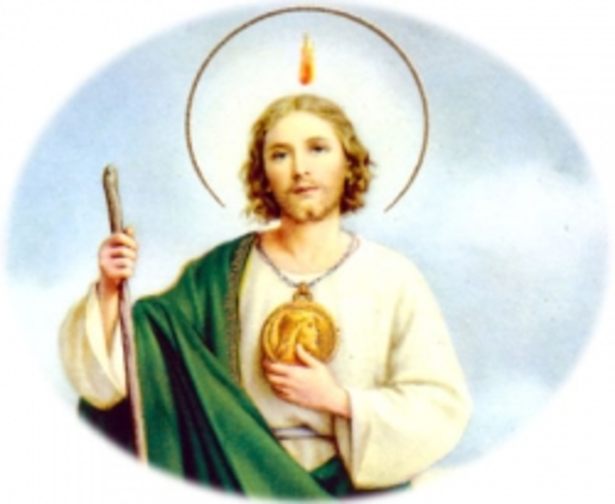 Saint Jude, The Patron Saint of Lost Causes and Despair