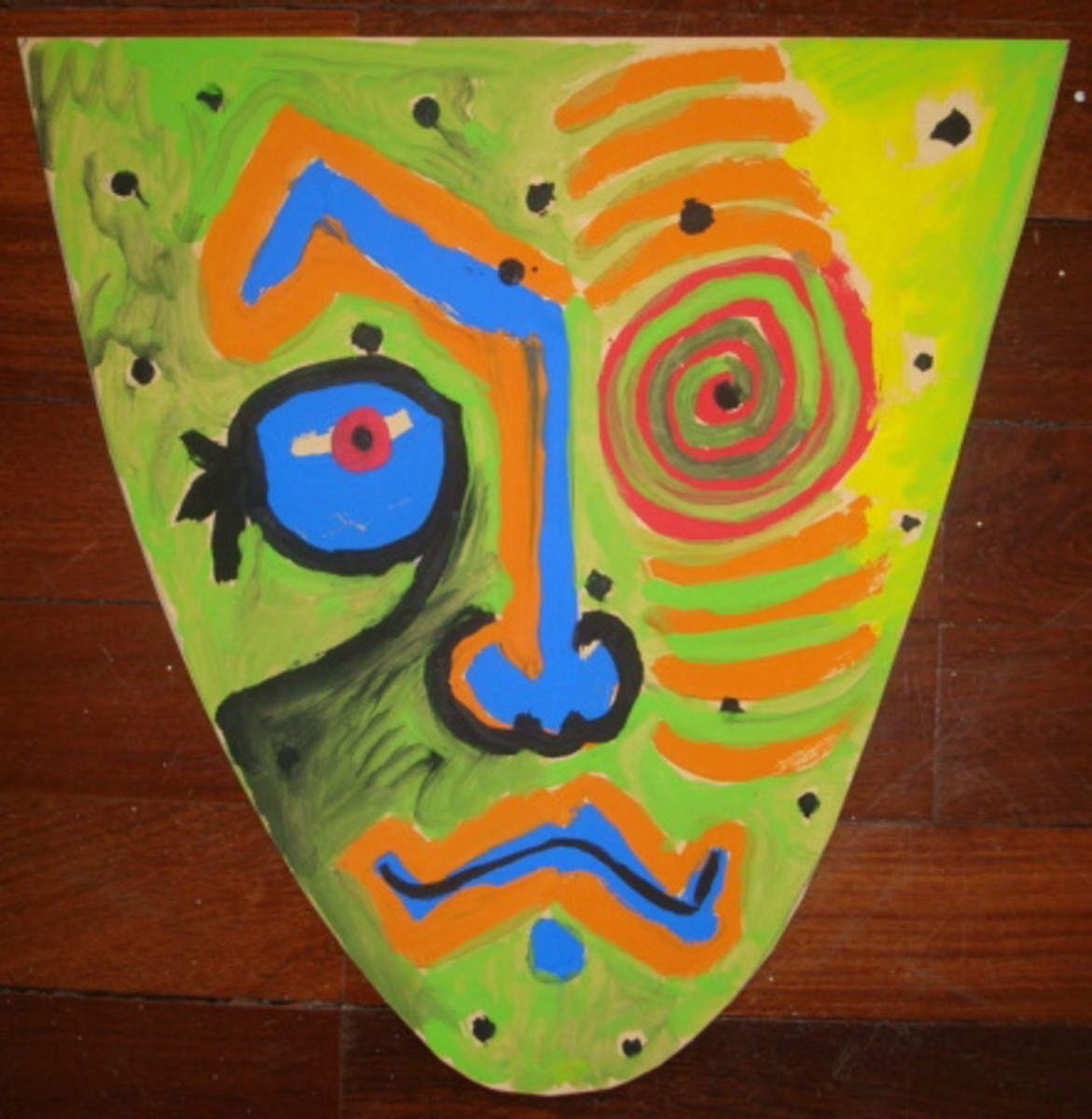 Art Lessons for Kids -  Make a Masterpiece Picasso Mask