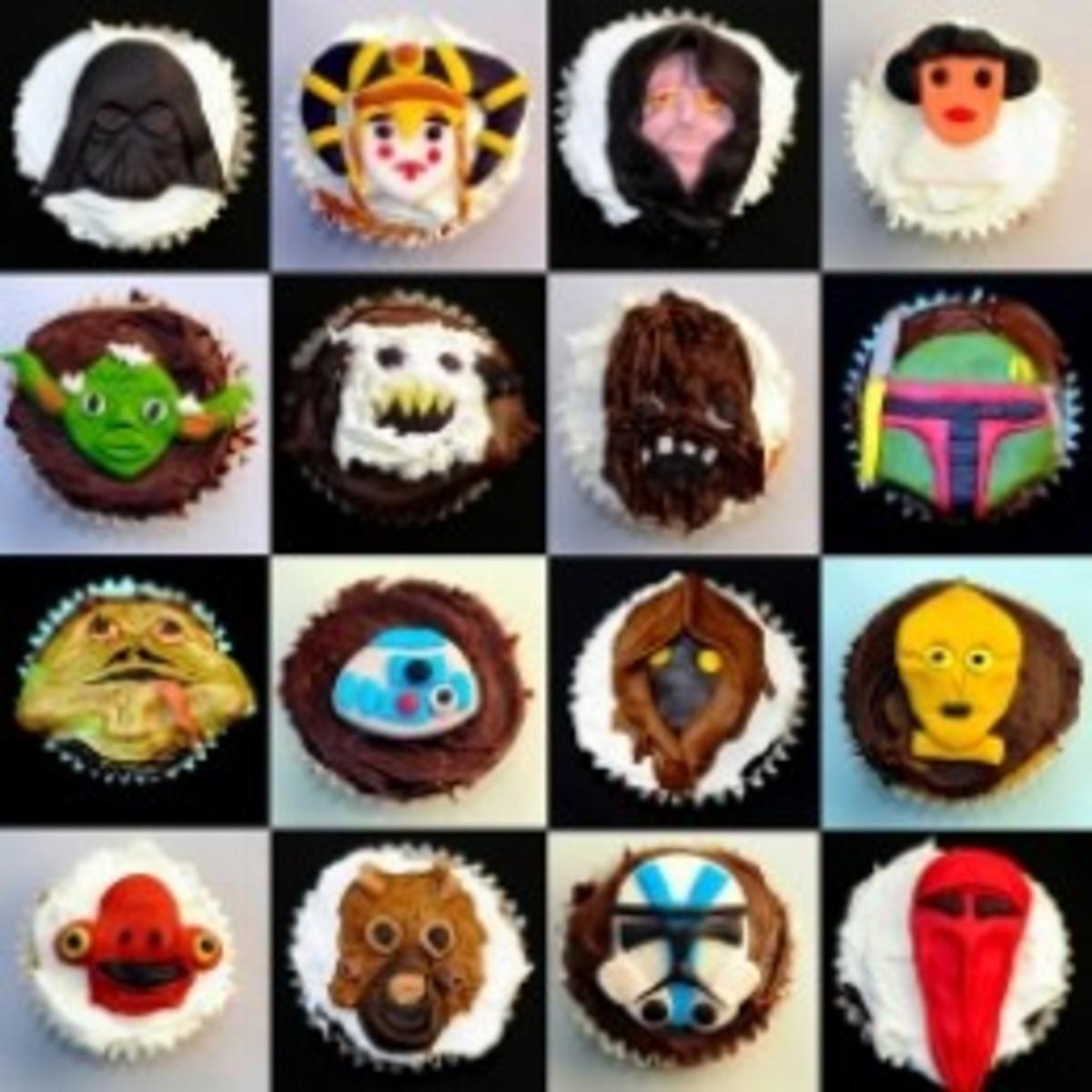Amazing Star Wars Cupcakes!