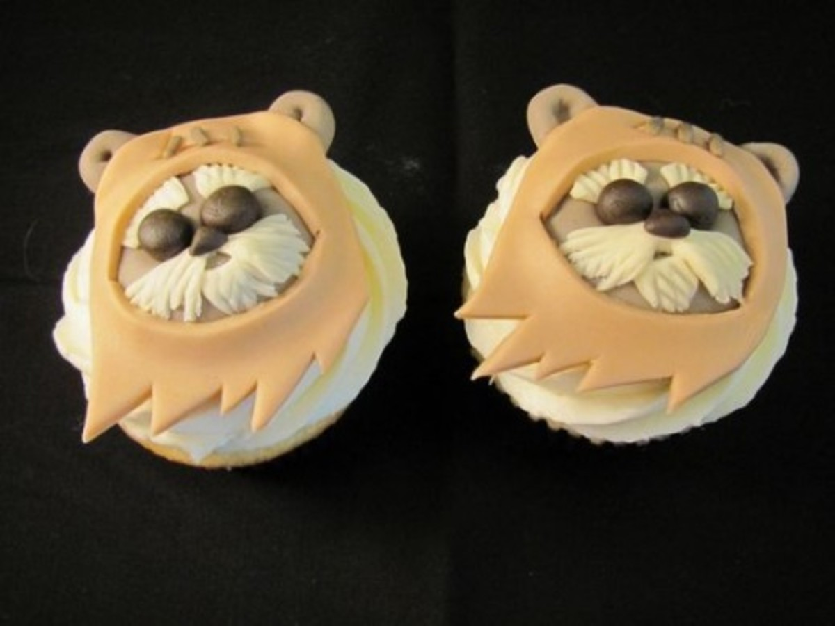 Ewoks! by Melissa Smith aka Zoeycakes on Flickr.com