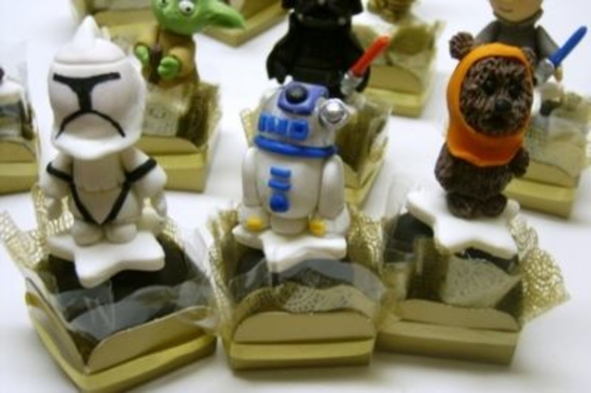 Closer Look - All Edible Handcrafted Truffles! I wanna Ewok!