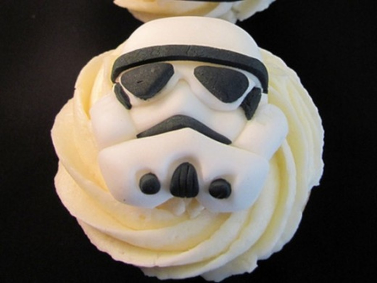 Storm Trooper by Melissa Smith aka Zoeycakes on Flickr.com