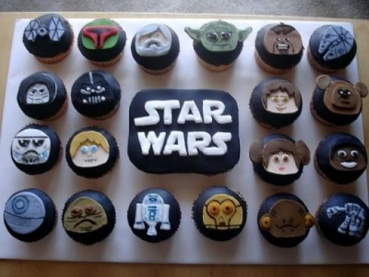 Hasbro Muggs inspired Star Wars Cupcakes!
