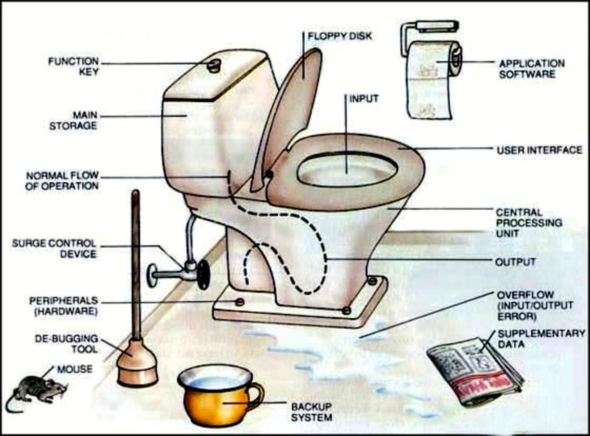 Статусы про туалет смешные