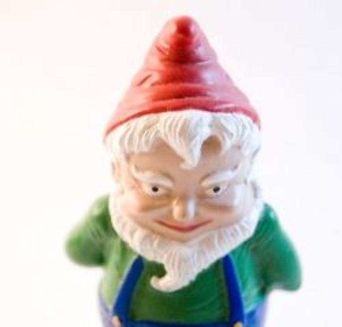 Garden Gnomes Are Evil!