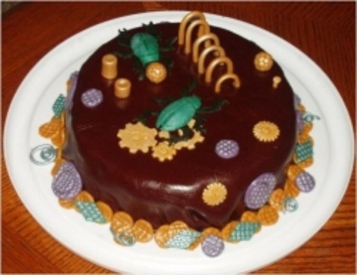 Steampunk Fondant Cake