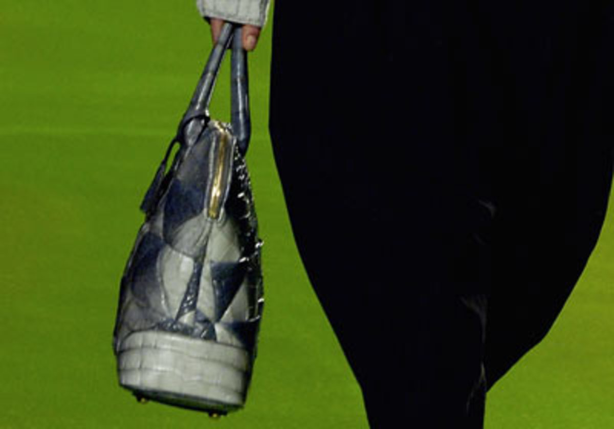 Marc Jacobs Carolyn Crocodile Bag