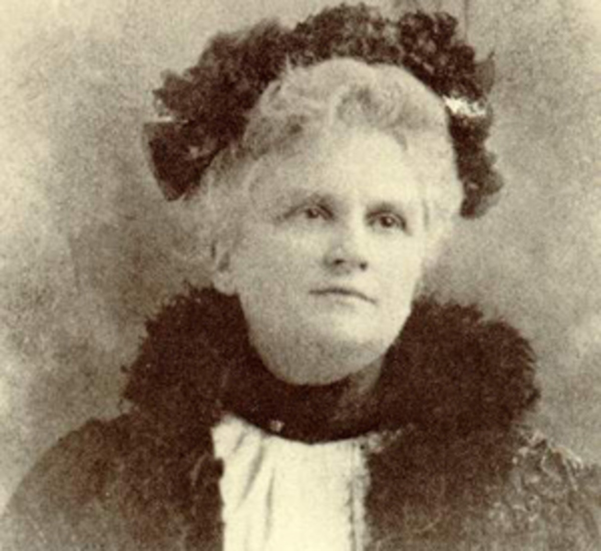 Author Kate Chopin later in life