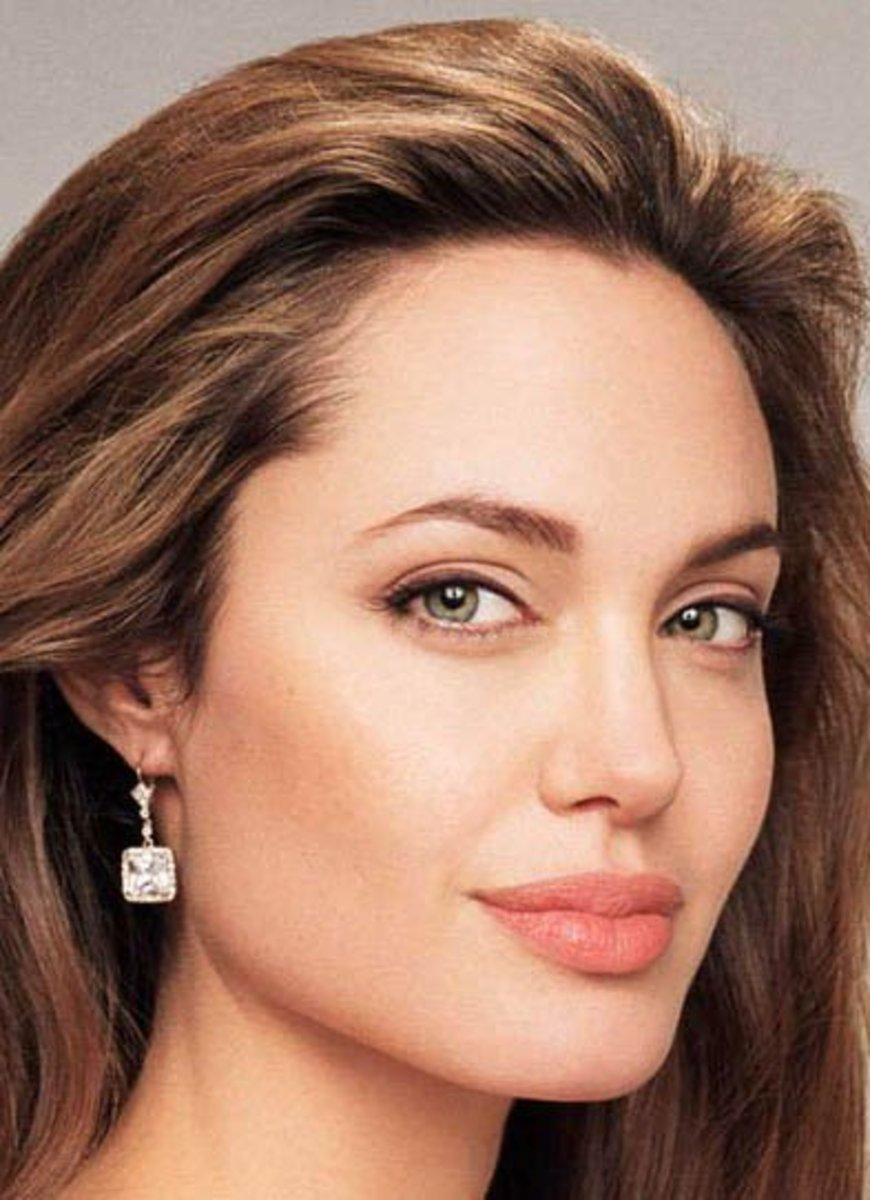 Angelina Jolie is well-known for her sexy, seductive, eyebrow arch.