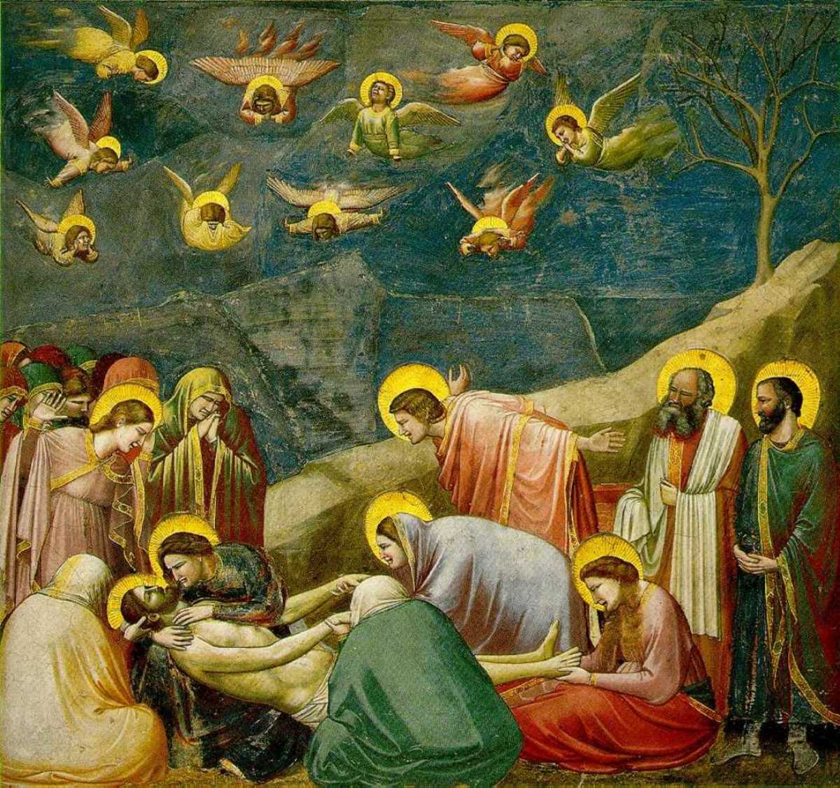 LAMENTATION BY GIOTTO 1305