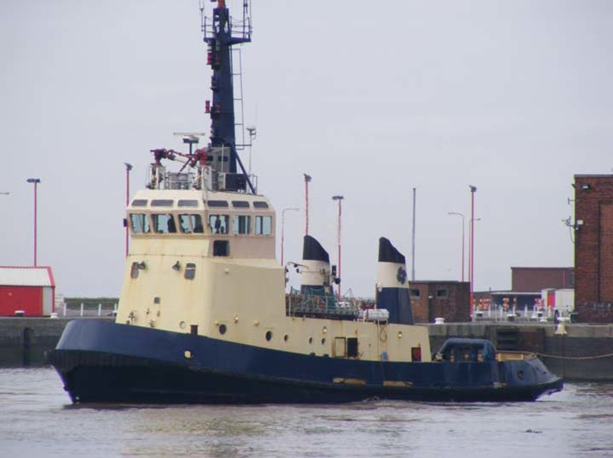 A Tug Boat may look small in size but it is very powerful and can pull or push heavier and bigger vessels.