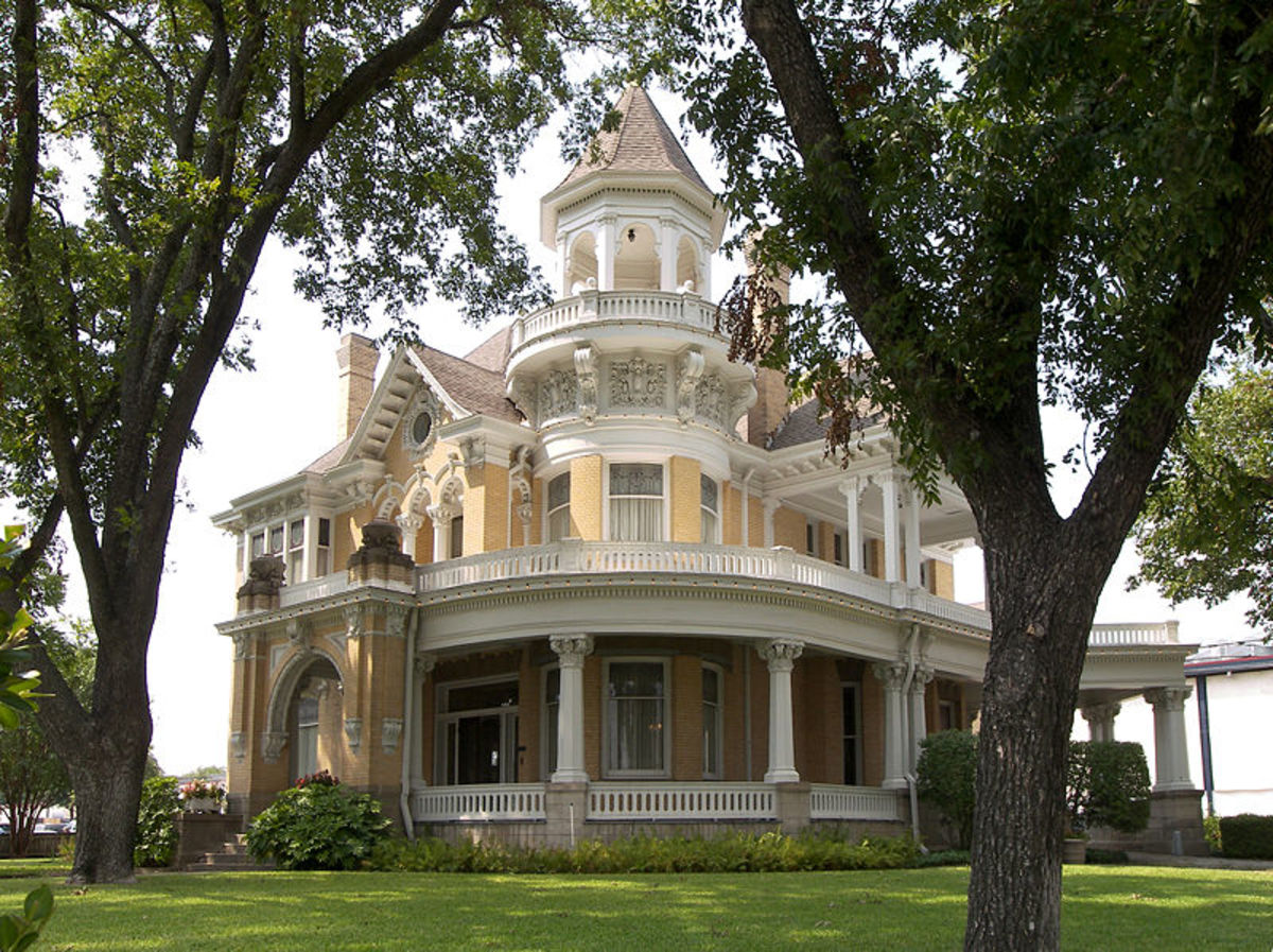 Image by Larry D. Moore, used under a Creative Commons ShareAlike License--The Beautiful Madison Cooper House, now where the Cooper Foundation resides in Waco, Texas