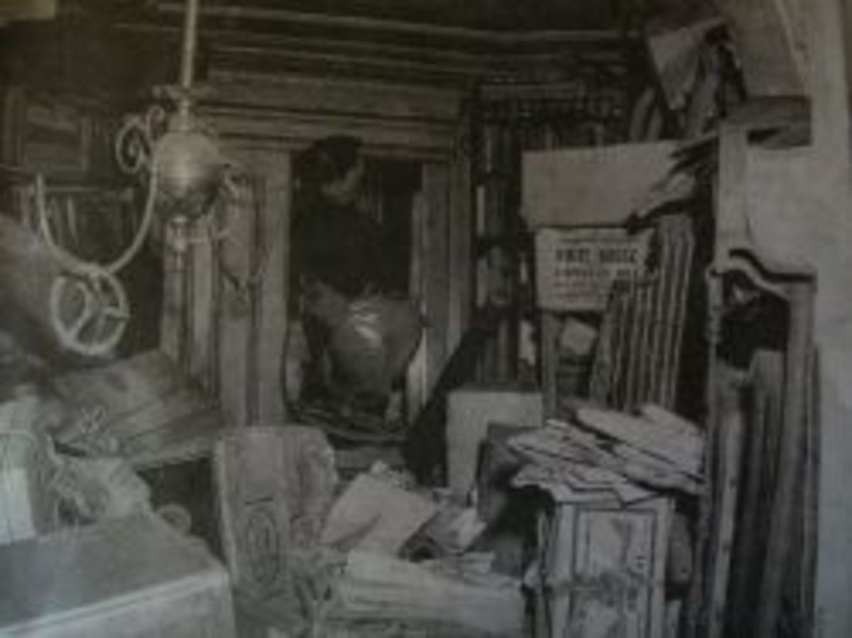 Inside The Collyer Brothers House