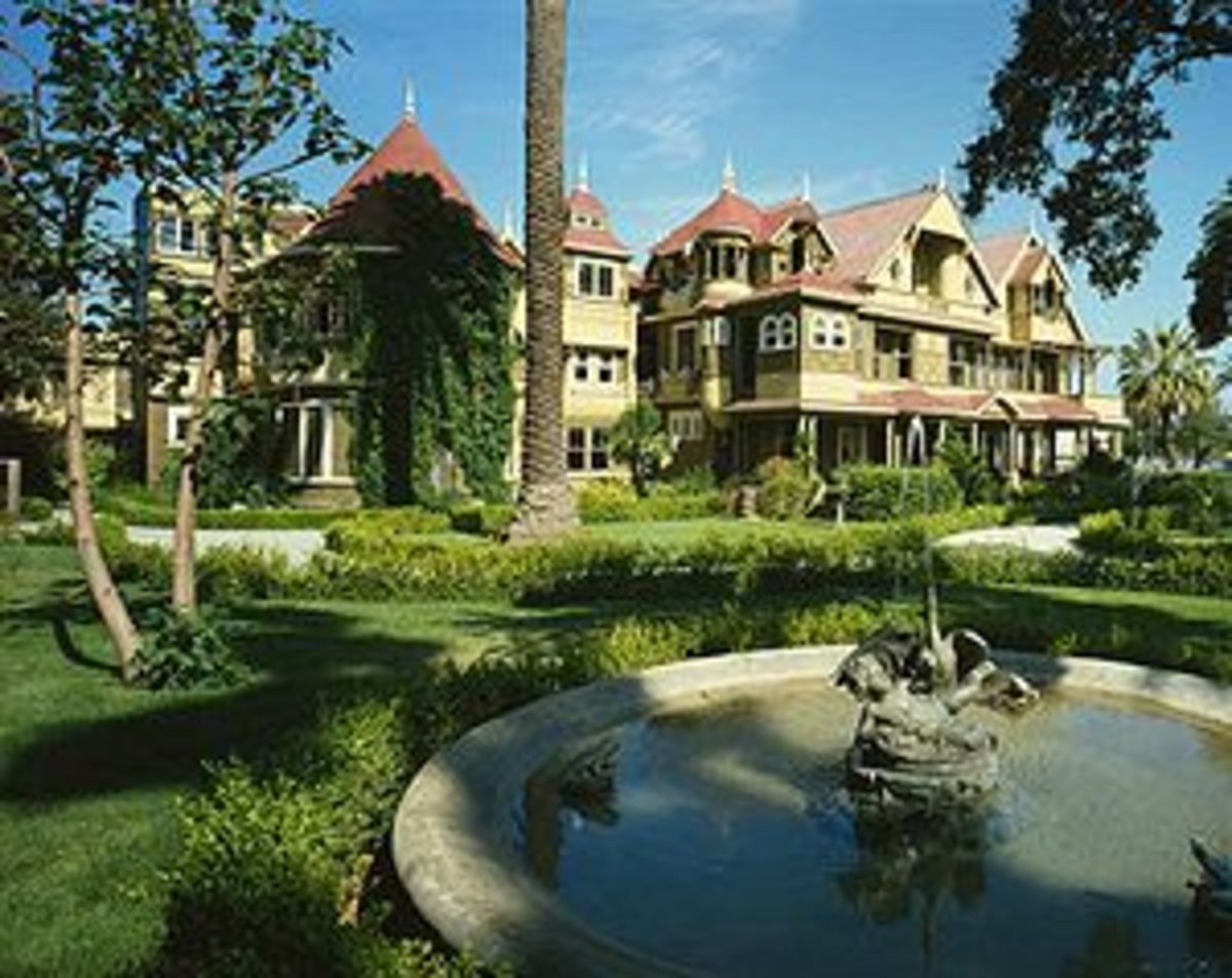 The Winchester Mystery House is alleged to be haunted