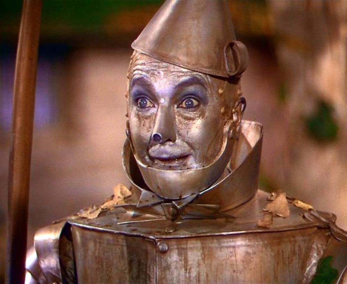 The innocent tin man; with a sensitive soul who really didn't need a heart; he was loving enough.