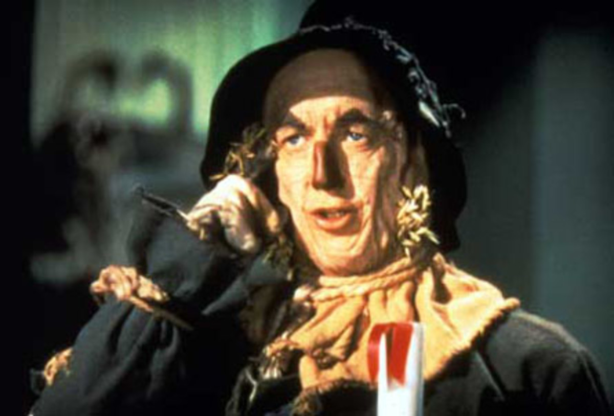 The truly wise scarecrow; who really didn't need a brain...he was smart already!