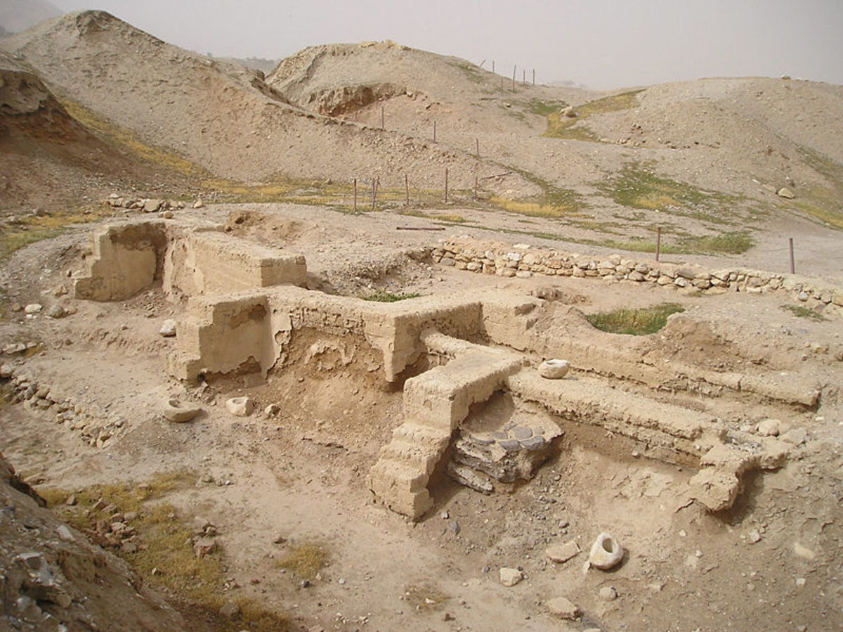 Jericho excavation, farming enabled towns and cities