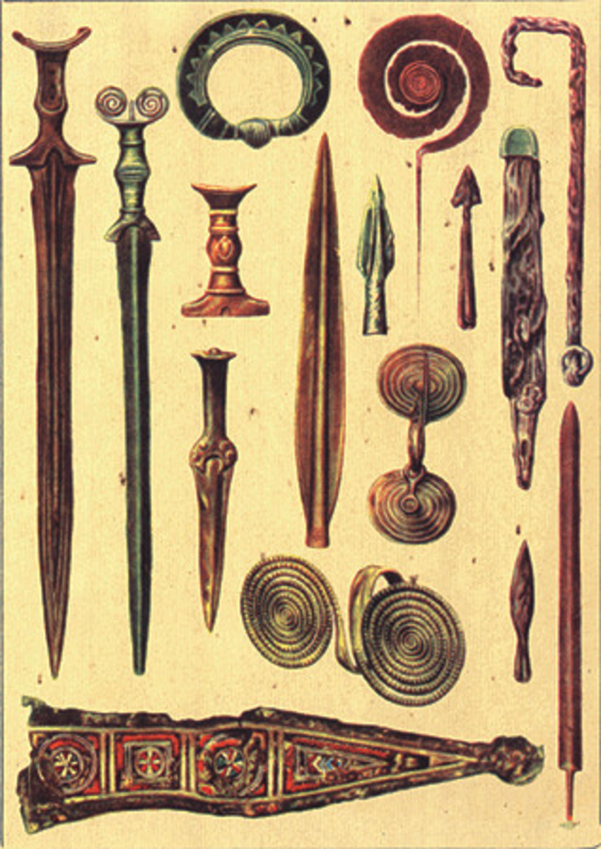 bronze age weapons