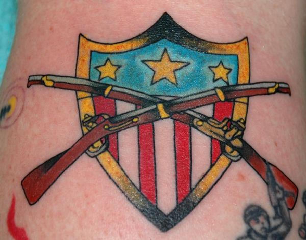 Flintlock Rifle Tattoo