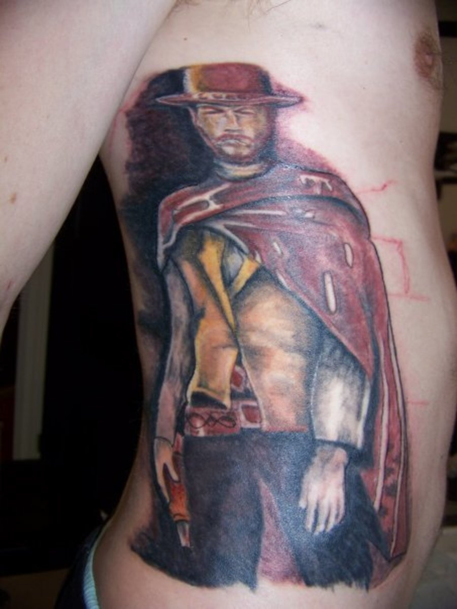 Clint Eastwood: The Good, The Bad, and the Ugly Tattoo