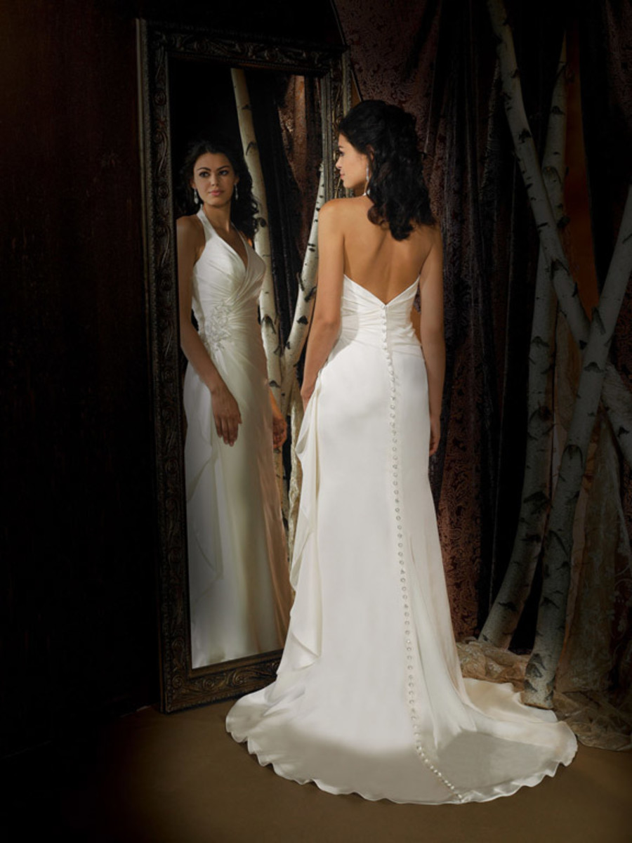 Destination Wedding Dress: Allure Far and Away Destination Wedding Dress Style 880