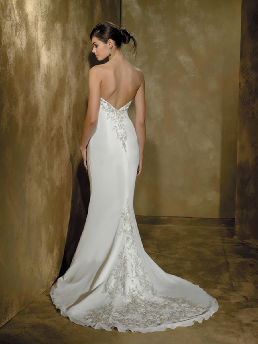 Destination Wedding Dress: Allure Far and Away Destination Wedding Dress Style 829