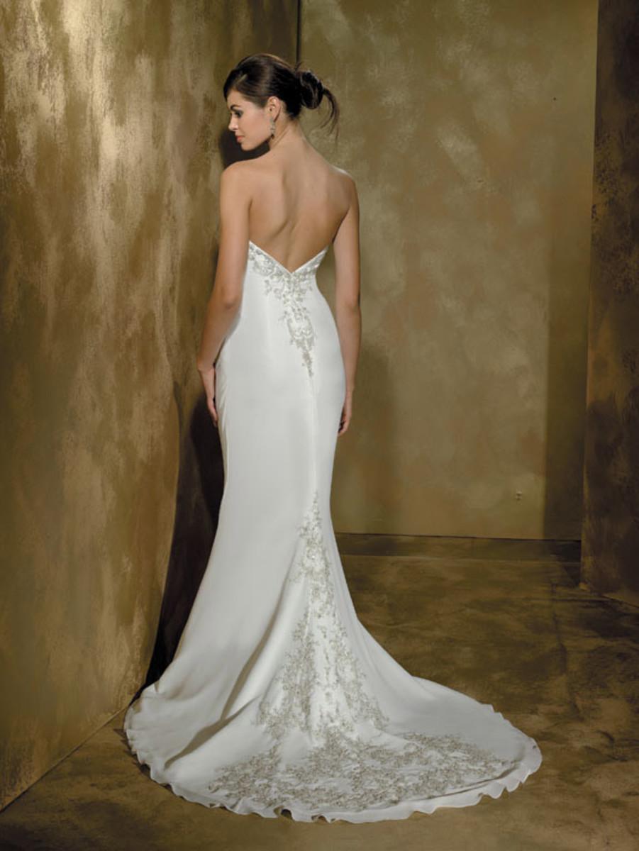 Destination Wedding Dress: Allure Far and Away Destination Wedding Dress Style 829